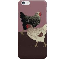 Hens Walk 2013 iPhone Case/Skin
