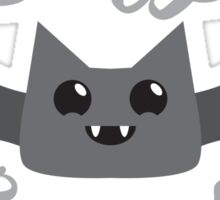 Crazy Bat Lady (new) with fancy type Sticker