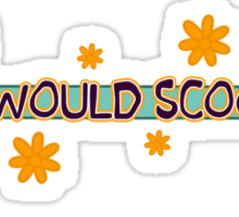 What Would Scooby Do? Sticker