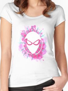 Radioactive Earth-65 Women's Fitted Scoop T-Shirt