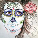 dia de los muertos  by Xtianna