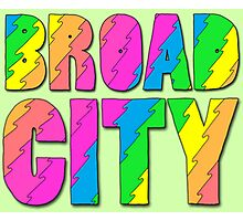 Broad City Title Photographic Print