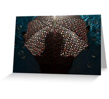 The Cryptics: Untitled #26 Greeting Card