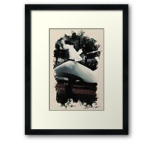 Heavenly sufi  Whirling dervish Framed Print