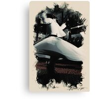 Heavenly sufi  Whirling dervish Canvas Print