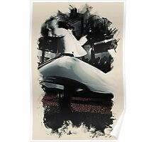 Heavenly sufi  Whirling dervish Poster