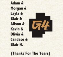 We Will Miss G4 Shirt 1 by HouseofXLVII