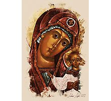 Heavenly Mother and baby Photographic Print