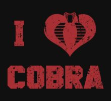 I Heart Cobra by Baznet