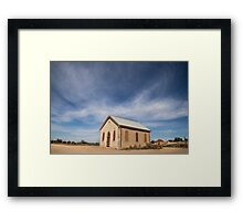 Church, Silverton, Outback NSW Framed Print
