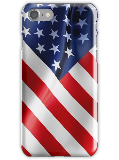 American flag iphone case   by mikath