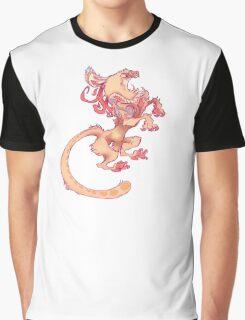 Heraldic Minoan Griffin Graphic T-Shirt