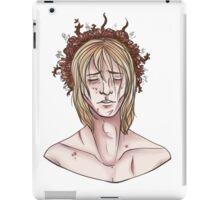 Flower crown Cole iPad Case/Skin