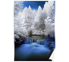 Kerosine creek in infrared 2 Poster