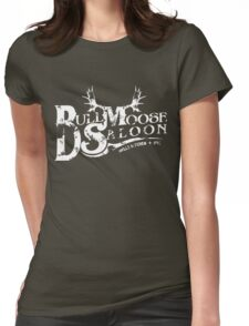Bull Moose Saloon - NYC Womens Fitted T-Shirt
