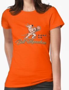 Bull Squadron Womens Fitted T-Shirt