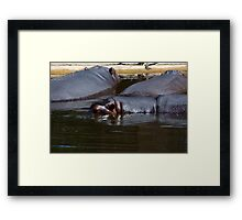 Anybody Want To Play Submarines? Framed Print