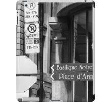 Montreal Street Scene iPad Case/Skin