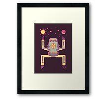 Space Sloth Framed Print