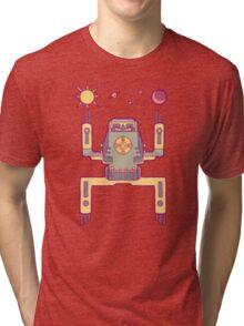 Space Sloth Tri-blend T-Shirt