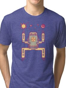 Space Sloth Tri-blend T-Shirt
