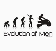 Off-Road Quad- Evolution of Men T-Shirt