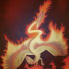 Phoenix Dragon by Joann Barrack