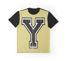 Big Varsity Letter Y Graphic T-Shirt