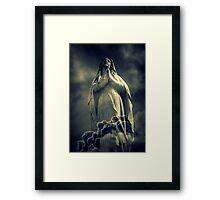 Mother of Two Nations Framed Print