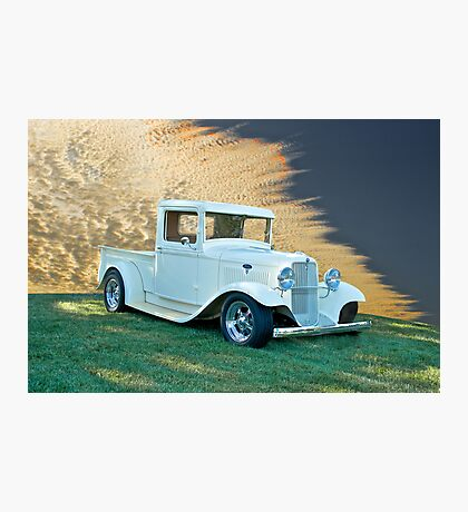 1934 Ford Pick-Up ll Photographic Print