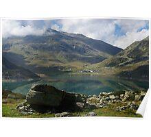 Lago di Montespluga, Italy Poster