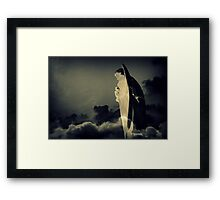 Let There Be Light. Framed Print