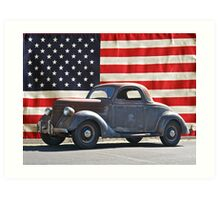 All American Ford Art Print