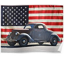 All American Ford Poster