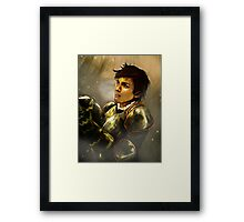 Reveal the Warrior Framed Print
