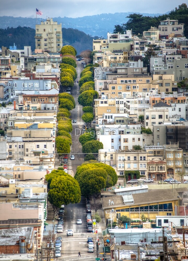 Other Side Of Lombard by Diego Re