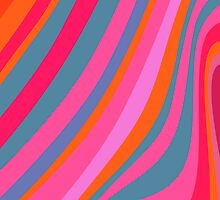 Pattern stipes - multicolor by CatchyLittleArt
