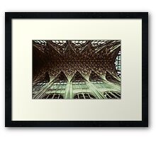 Ceiling Gloucester Cathedral 19810115 0032 Framed Print