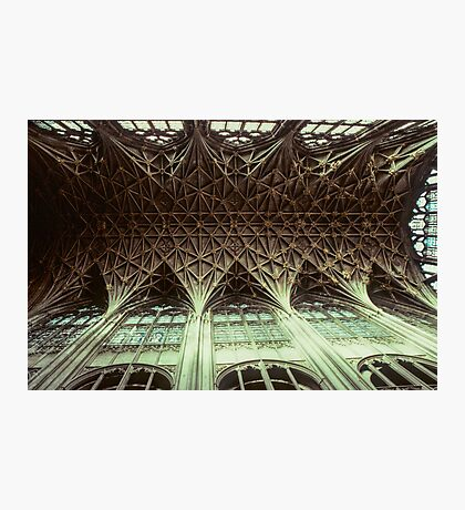 Ceiling Gloucester Cathedral 19810115 0032 Photographic Print
