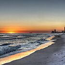 Orange Beach Sunset by Lynn  Jordan