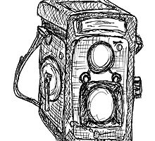 Vintage Camera by Frederick James Norman