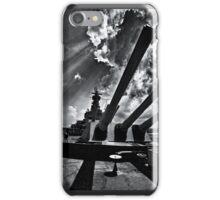 The Mighty Battleship Alabama iPhone Case/Skin