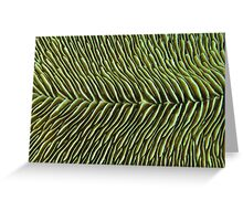 Finely Sliced Greeting Card