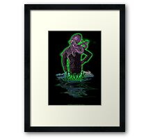 Business Man of The Sea Framed Print