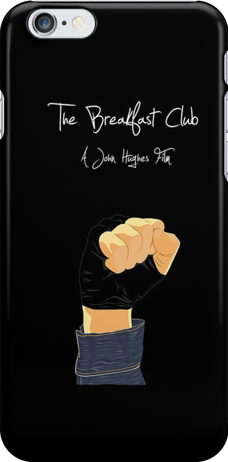 The Breakfast Club - Iphone Case  by sullat04