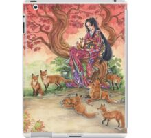 Kitsune Glen iPad Case/Skin