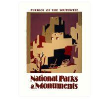 Pueblos of the American Southwest Art Print
