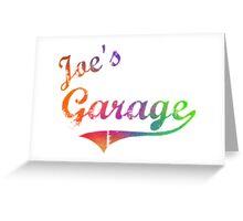 Joe's Garage - Frank Zappa Greeting Card