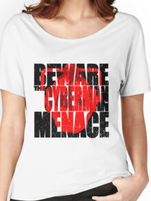 A warning! Women's Relaxed Fit T-Shirt