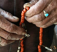 Hands of faith, Bhutan by LeighBlake